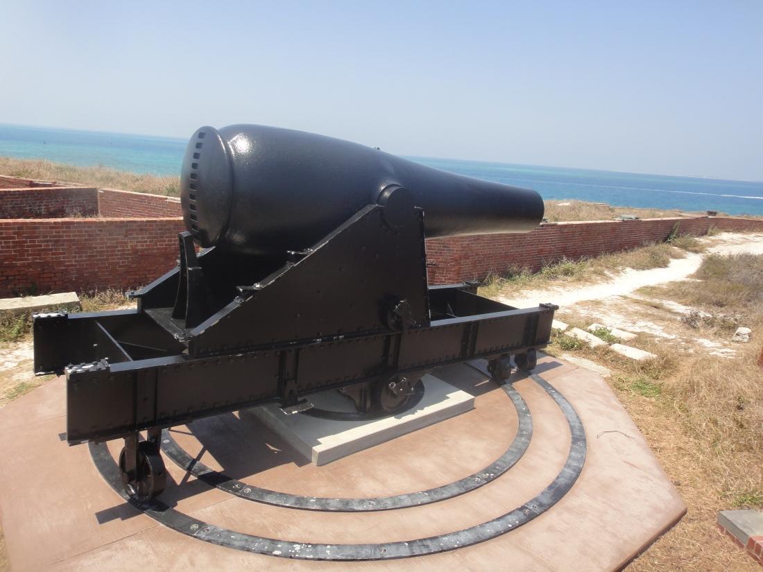 Fort-Jefferson-Cannon